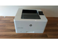 HP LaserJet M402dne A4 black and white network printer with brand new toner