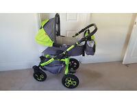 3 in 1 baby prams + car seat