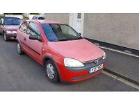 Vauxhall Corsa Club 1.0L, 2001, 3dr.