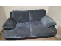2 Seater sofa, soft grey in colour good conditon £20 must pick up