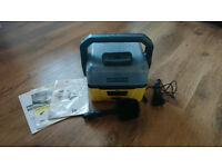 Karcher OC3 portable pressure washer with attachable bike brush