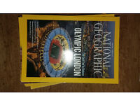 National Geographic 15 issues, (11 from 2012 & 4 from 2009) £5.00 or make an offer