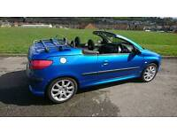 Peugeot 206cc 2.0 16v 69700 mileage MOT until March 2018 full service history