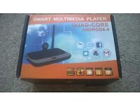 Smart Multimedia Player Quad-Core Set Up For Polish TV & RADIO (Used) Perfect Condition