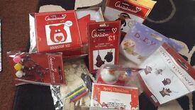 Bundle of christmas crafts