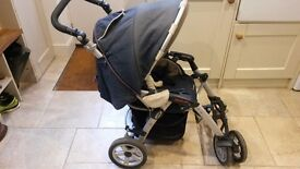 Jane Pro Travel System - push chair, car seat and carry cot - used