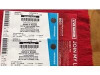 2 Guns N Roses Tickets for Sale
