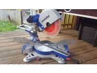 METABO 305 DOUBLE COMPOUND MITRE SAW