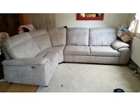 Sofabed and footstool