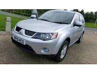 2010 MITSUBISHI OUTLANDER EQUIPPE 7 SEATER 2.0 DI.D SE SUV 5DR STATE MANUAL 4X4 EX POLICE CAR