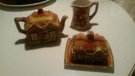 3 pce vintage cottage set
