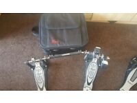Pearl P-902 Double Kick Pedal (with carry case)