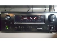 DENON AVR-1509 AV HOME CINEMA AMPLIFIER EXCELLENT SOUND QUALITY WITH HDMI AND REMOTE BARGAIN!!