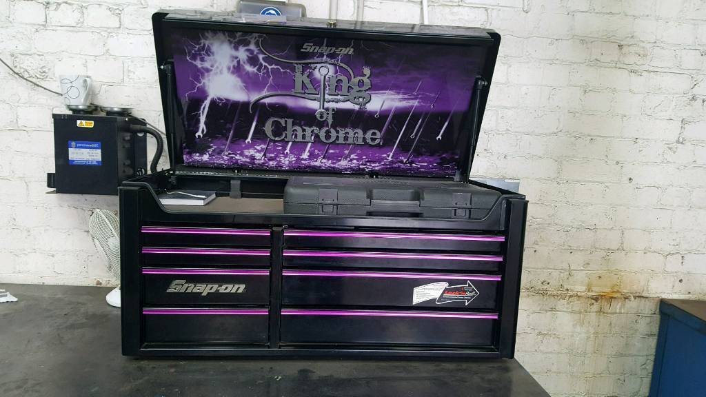 limited edition snap on toolbox king of chrome | in smethwick, west ...