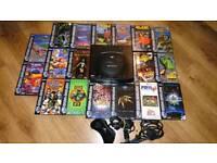 Sega Saturn with 18 Games