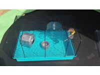 2 x Wire Hamster Cages