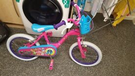 Shopkins brand new kids pedal bike