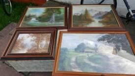4 Beautiful Paintings at very reasonably priced