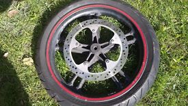 Yamaha yzf r125 front wheel