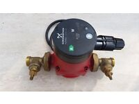 GRUNDFOS ALPHA 2 15-60 130 CENTRAL HEATING PUMP. MANUFACTURED LATE 2012. EXCELLENT CONDITION.