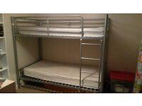 bunk beds metal frame