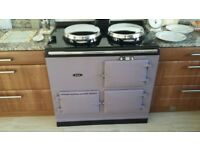 Aga Cooker 2 oven (13 amp electric) in heather