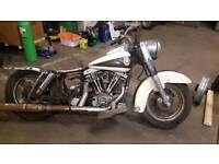 Harley Davidson shovelhead FLHP Project