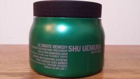 Shu Uemura Art of Hair Ultimate Remedy Masque 500ml- Brand New