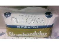 Pillows job lot cushions bedding linen duvet