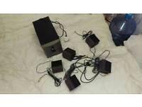 4Gamer 5.1 surround sound system.