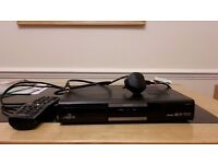 Humax hd freesat box with remote and satalite cable in good condition