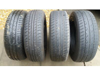 Vauxhall Corsa wheels with tyres 185/65/15