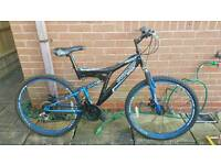 Dunlop mountain bike with disc brakes