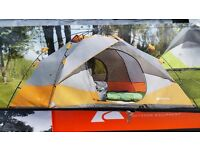 Brand new 4 man instant tent & accessories BARGAIN