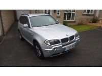 BMW X3 2.0D 2005 4X4 EXCELLENT CONDITION MAY SWAP P/EX FOR BMW 730D