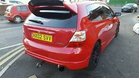 HONDA CIVIC TYPE R 2.0IVTEC MILANO RED MUST SEE!