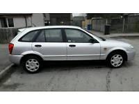 Mazda 323 1.3 2003. Got mot till 29 September 17