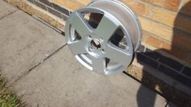 Ford Alloys and tyres (4 off) for sale
