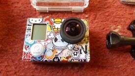 GoPro Hero 3 Black - with GoPro Touch screen and accessories