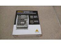 Behringer QX1002USB mixer