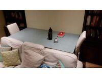 Dinning Room Table - 185cm x 95cm x 76cm - Ex-John Lewis + 2 chairs