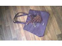 Dark Purple Lipsy Handbag