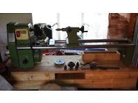 Woodwise pw 16-40 woodturning lathe