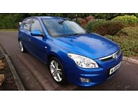 Hyundai I30 5 DOOR 1.6 CRDi Premium 5dr 1 keeper from new with full service history