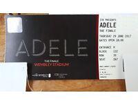 Adele ticket 29 june 2017