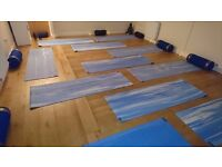 Yoga/Pilates Studio to hire - holds 9 Mats (Including teachers)