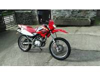 Honda xr 125 motorbike dt 125 suzuki yamaha