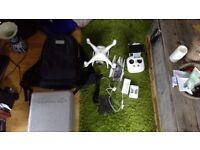 DJI Phantom 4 Drone w/ plenty of extras ready to fly