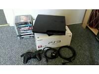 PS3 Slim 160GB and Games Bundle