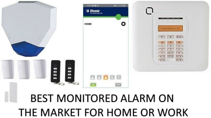 HOME OFFICE WORK BURGLAR INTRUDER POWERMASTER ALARM SYSTEM  ADT HONEYWELL VISONIC TEXECOM YALE  CCTV for sale  Small Heath, Birmingham